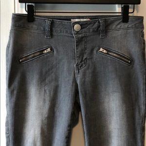 CAbi gray skinny jeans